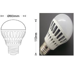 E27 LED Lamp vervangt 60watt E27 gloeilamp. Ik zoek een 60watt vervangende gloeilamp in LED lamp