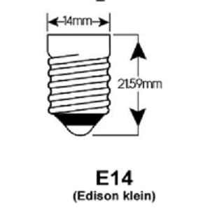 24Volt E14 LED Bulb E14 lampfitting Base