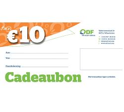 Cadeaubon €10,00 duurzame led verlichting producten ODF led verlichting Winschoten