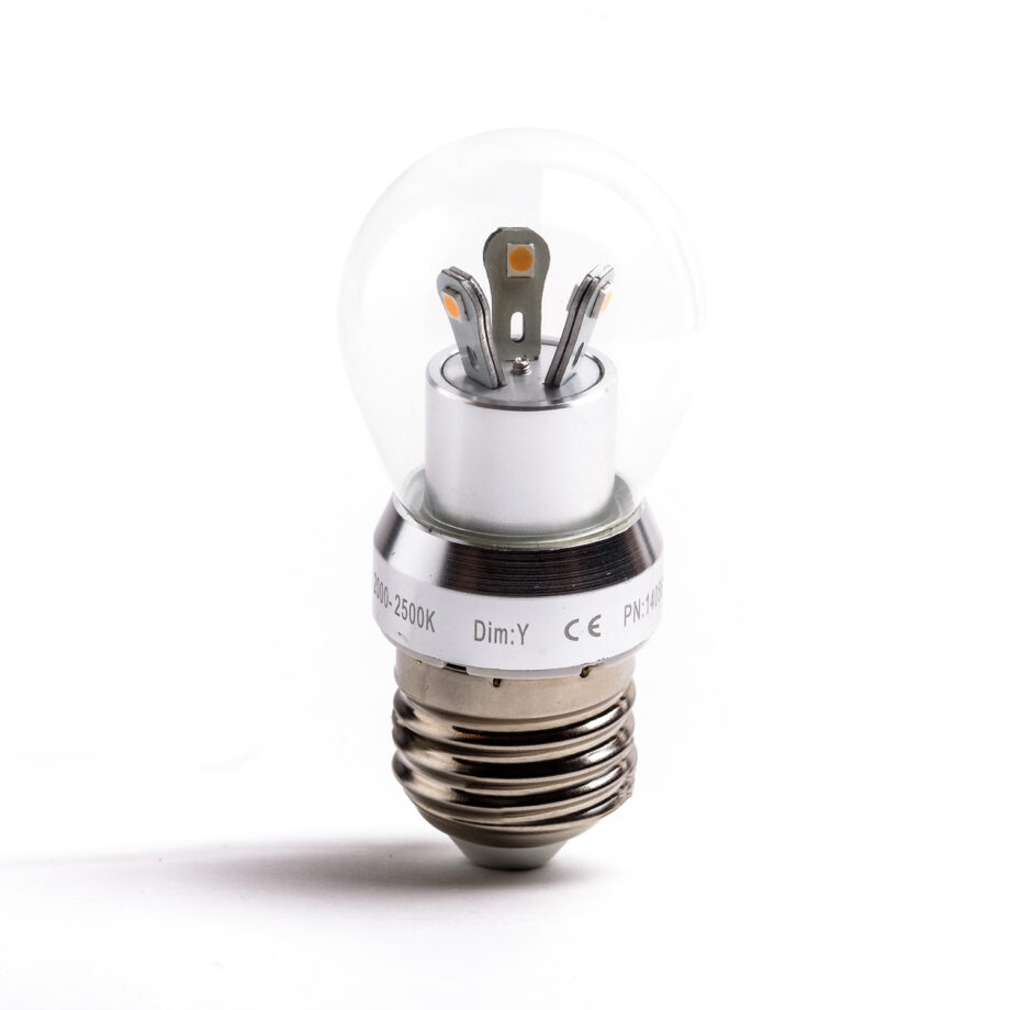 met deze E27 3 Watt LED Lamp
