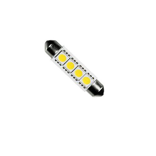 12 Volt buislampje buis led lampje 44 mm festoon led lampje stadslichten voor achter interieurverlichting