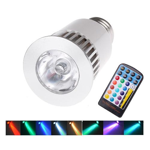 RGB led lamp E27