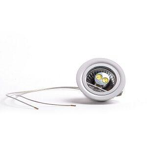 inbouwspot met vervangbare LED voor afzuigkap vervangen voor halogeen