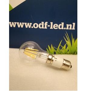 BA22D Bajonet LED lamp in E27 lampfitting met lampadapter BA22D naar E27 verloopje lampadapter ODF LED