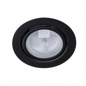 24v meubelinbouwspot zwart diameter 55mm zwarte inbouwspot inbouwen piekspanning 12Volt 24Volt LED Verlichting inbouwen weinig ruimte boven plafond