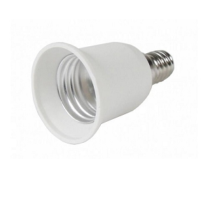 Lamp Adapter E14 kleine lampfitting verloopt naar E27 grote lampfitting