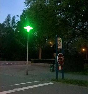 groene straat led verlichting preventie led verlichting groene straatverlichting ODF Winschoten Groningen Nederland