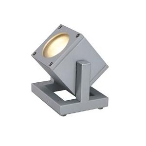 Cubix single met vervangbare led verlichting lamp 24 Volt exterieur verlichting zelfvoorzienend leven