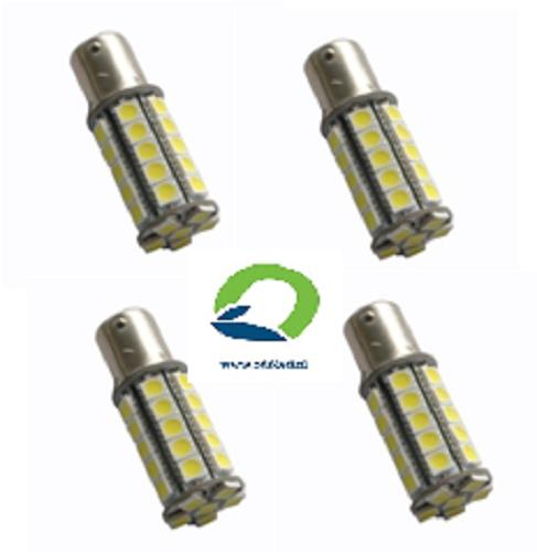 Bajonet led lamp BA15S 1156 36 leds 12 Volt 24 Volt