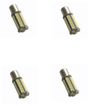 Bajonet led lamp B15D fitting 36smd 1156