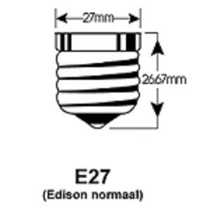 24V lE27 LED lampfitting draailampfitting ampen vervangen door een LED E27 LEDlamp fitting