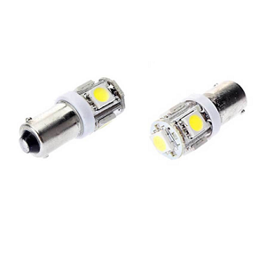 BA9 LED 6Volt warm wit