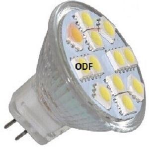 MR11 led lamp voor inbouwspot 35 mm inbouwspot