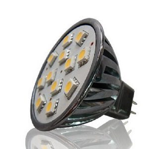 MR16 led lamp 12 Volt ledspot T12SMD ODF LED
