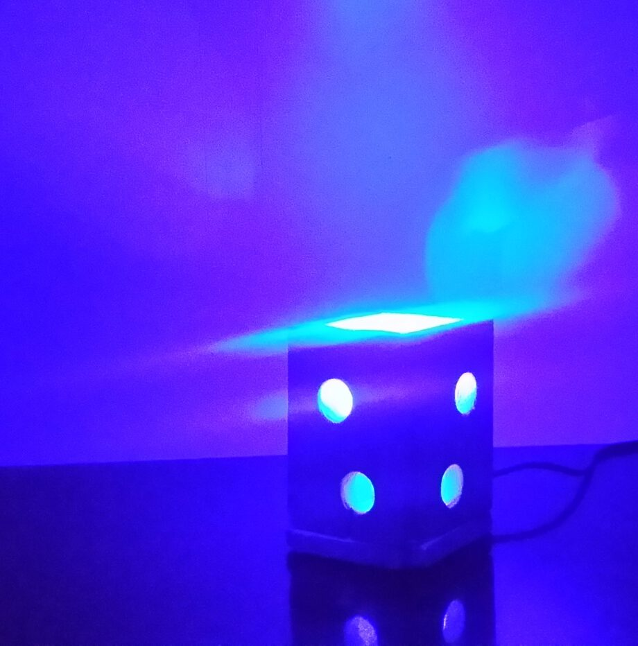 Blauwe LED Verlichting