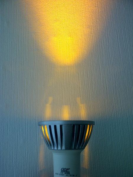 GU10 led lichtbron geel dimbaar ODF LED Verlichting OWN DESIGN Winschoten