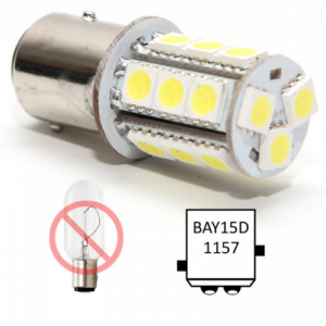 Bajonet led lampje BAY15D