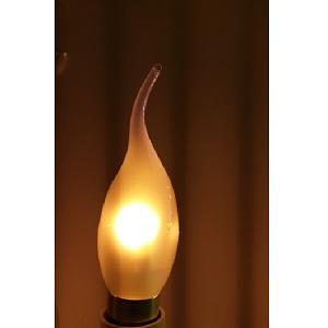 Led Tip kaars led lamp voor kroonluchter in led lamp wit glas mat glas dimbare led odf