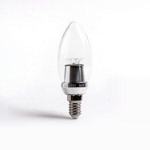 Umbra E14 led lamp met kleine draaifitting