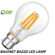 Bajonet BA22D led lamp 12 Volt 24 Volt Marine led lamp Camper led lamp Caravan led lamp