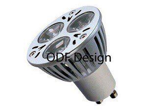 GU10-led-T3-dimbaar GROENE LED VERLICHTING LED LAMP