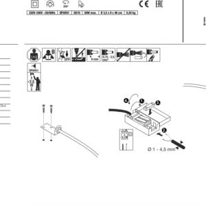 Handleiding LED DISPLAY ADL 50 LED Lichtbron GU10 ODF Verlchting Winschoten