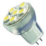 MR8 led lamp 12Volt voor inbouwspotjes of draadsysteem verlichting