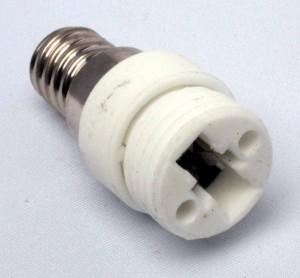 Adpater E14 verloopt naar G9 fitting voet socket