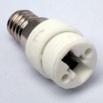 fitting verloopt van E14 draaifitting naar G9 led lamp