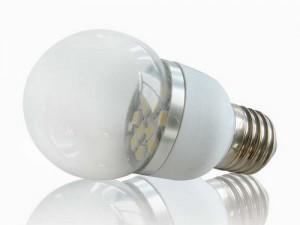 E27 led lamp 24volt bootverlichting, camperverlichting, tuinverlichting, solar verlichting