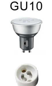 hoe plaats je GU10 led lamp in gu10 fitting