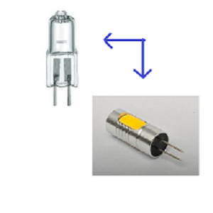 G4 LED lamp G11. LED lamp G11 vervangt een 12Volt, G4 halogeen lampje. G11 LED lamp werkt op 12Volt.