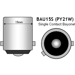 Bajonet BAU15S led lampen