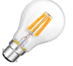 Bajonet BA22 LED lampen