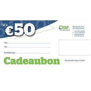 Cadeaubon € 50,00 Duurzame led verlichting producten ODF led verlichting Winschoten