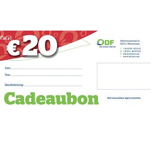 Cadeaubon €20,00 ODF Led Verlichting Led lampen Winschoten Groningen Nederland
