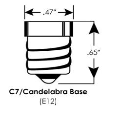 E12 led lampen