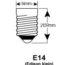 E14 LED lampen