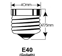E40 LED lampen