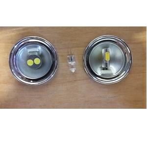 G4 halogeen lampje 24 Volt 12 Volt vervangen door G20 of G11 led lampjes van ODF Own Design Winschoten