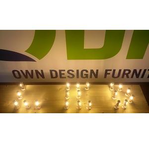 G4 halogeen lampjes in inbouwspotjes hanglampen vervangen door ODF Own Design G11 led lampjes Winschoten