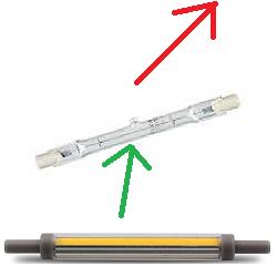 Halogeenlamp vervanger