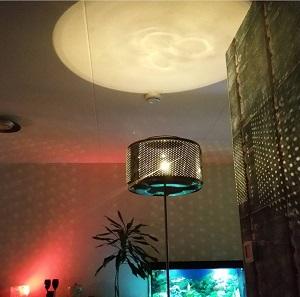 Vintage ODF Own Design floor led lamp odf winschoten Nederland