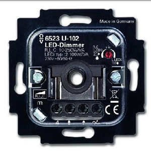 BUSCH-JAEG DIMMER 100VA LED INB 250W_VA axcent, Alpha exclusive, Alpha nea,