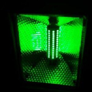 Groen licht groene LED Verlichting Lampen ODF R7S bouwlamp met groen licht Breedstraler groen licht verlichting lampen
