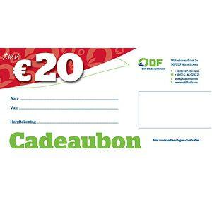 20 euro cadeaubon tegoedbon duurzaam kado giftcard kadobon