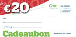 Cadeaubon 20 Euro duurzaam kado kopen