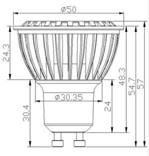 GU10 halogeen lampen vervangen met door GU10 led lampen