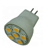 LEDspot MR8 12Volt 40 MR8 led lampspot te gebruiken voor oa inbouwspot of draadsysteem verlichting Lampfitting: MR8 Voltage: DC12 Volt Wattage: 1.5-2 Watt Lumen: 100lm Beam Angle: 120° Lichtkleur:4000 Kelvin Maatvoering: Φ25*33mm