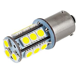 BAU15S Bajonet LED Lampen 12V 24V 6000Kelvin blauwwit licht
